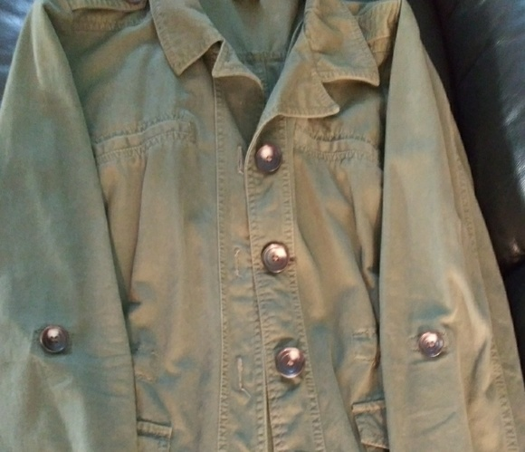 French Connection Military style Army Green Jacket